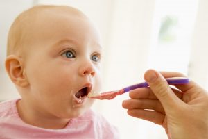 Introducing Solid Food for your Baby